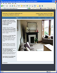 View these Edinburgh self-catering apartments