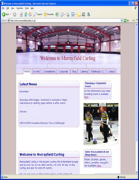Visit Murrayfield Curling's website